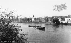 Barnes, The Thames c.1960