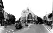 Barnet, Church Of St John The Baptist c.1965