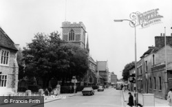 Barnet, Church Of St John The Baptist c.1965
