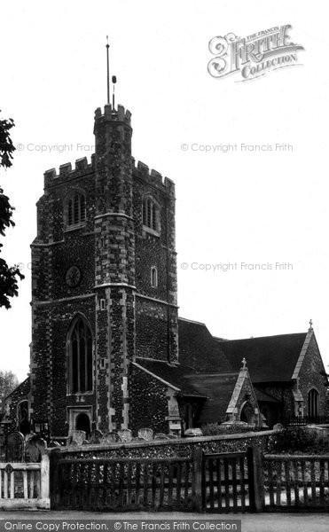 Barnet, Hadley Church c.1955