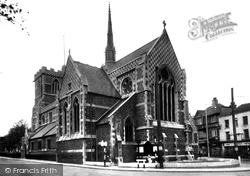 Barnet, Parish Church Of St John The Baptist c.1955