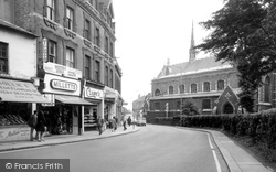 Barnet, St John's From The High Street c.1965