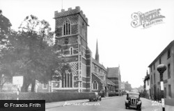 Barnet, The Church c.1955