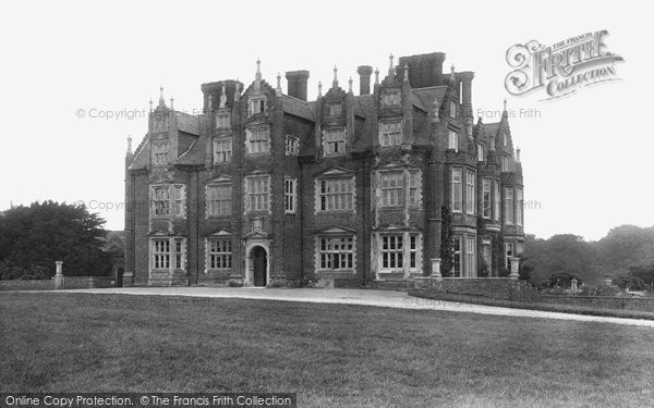 Barningham Hall, 1922