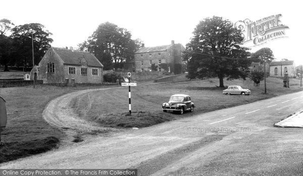 Barningham, The Village Hall And Green c.1960