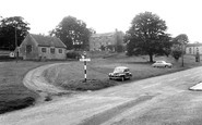 Barningham, The Village Hall And Green c.1960
