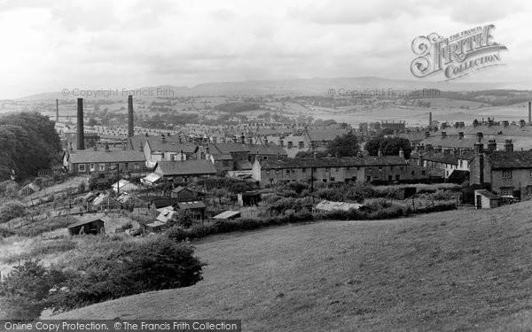 Barnoldswick, General View c.1955
