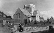 Barnoldswick, Holy Trinity Church c.1960