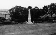 Barnoldswick, War Memorial c.1955