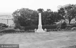 War Memorial c.1955, Barnoldswick