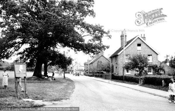Barns Green, High Street c.1955