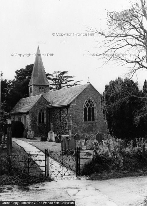 Photo of Barns Green, St Nicholas Church c.1960