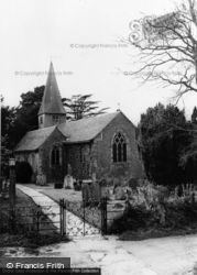 St Nicholas Church c.1960, Barns Green