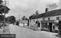 Barns Green, The Stores c.1955