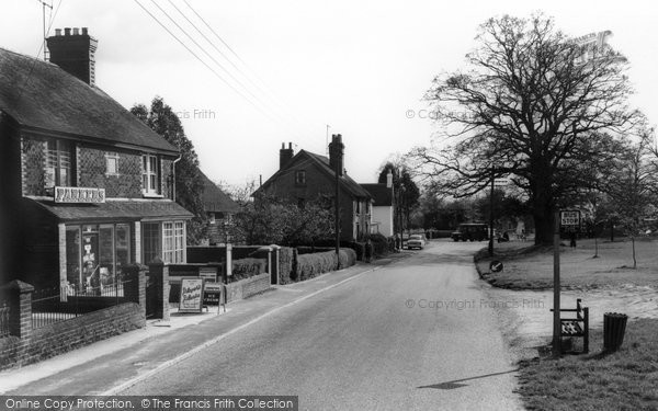 Photo of Barns Green, the Village c1960