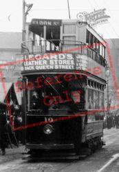 A Tram c.1900, Barnsley