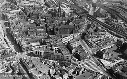 Barnsley, Aerial View c.1966