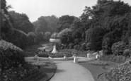 Barnsley, Locke Park, The Quarry c.1955