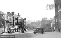 Barnsley, Market Hill 1948