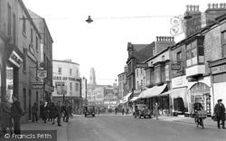 Barnsley, Sheffield Road c.1950