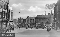 View To Queen Street c.1950, Barnsley