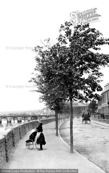 Barnstaple, A Pram 1890