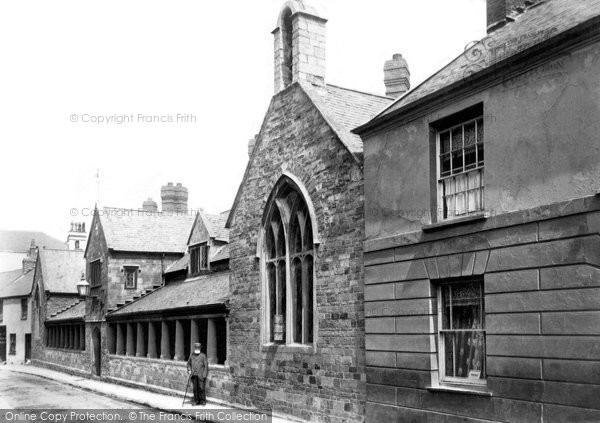 Barnstaple, Almshouses 1903