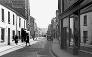 Barnstaple, Bear Street c1955