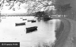 Barnstaple, Boating Pool c.1955