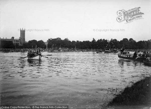 Barnstaple, Boats On The River Taw 1935