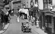 Barnstaple, Car In Boutport Street 1935