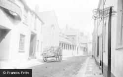 Exeter Inn And Almshouses c.1890, Barnstaple
