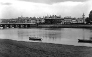 Barnstaple, From The River Taw 1929