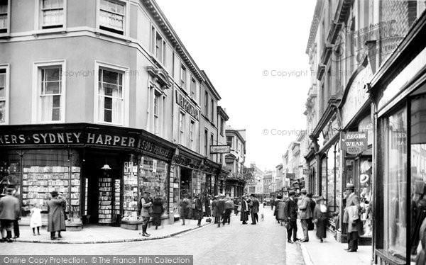 Barnstaple, High Street 1919