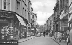 High Street c.1950, Barnstaple