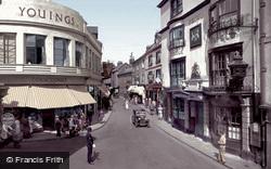 High Street Corner 1935, Barnstaple