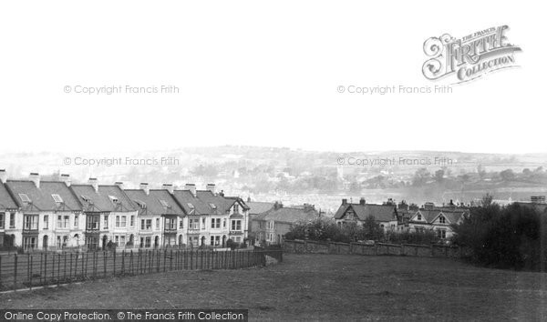 Photo of Barnstaple, Hills View c1950