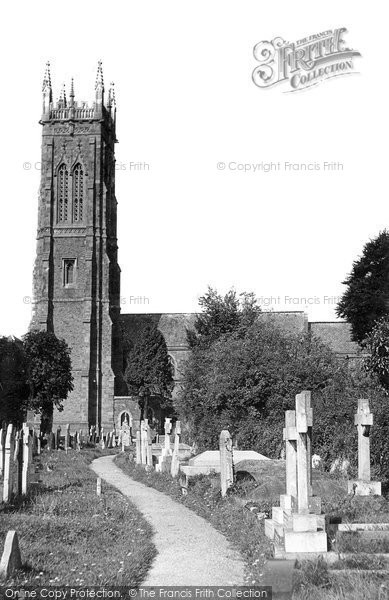 Barnstaple, Holy Trinity Church c.1955