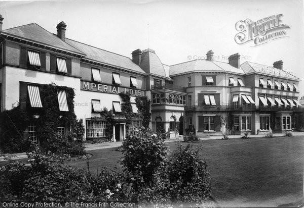 Barnstaple, Imperial Hotel 1912