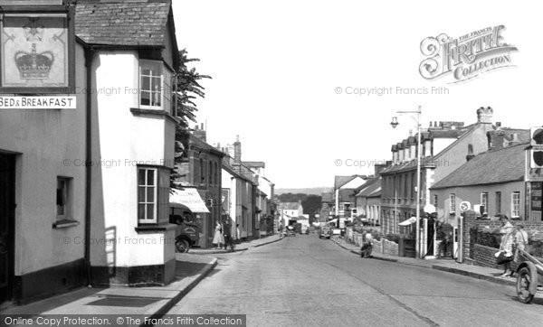 Barnstaple, Newport Road c.1960