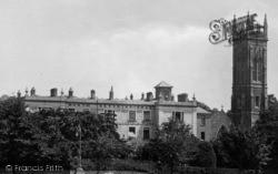 Barnstaple, North Devon Infirmary And Church 1929