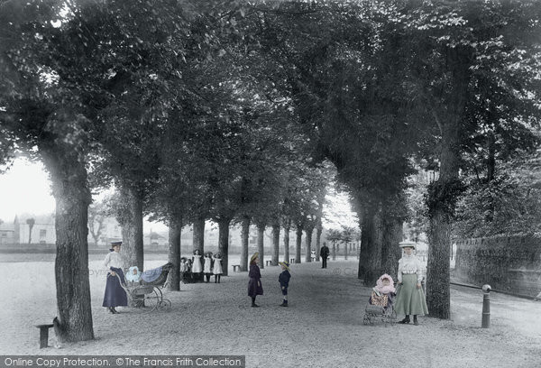 Barnstaple, North Parade 1906