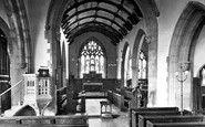 Barnstaple, Parish Church Interior 1919