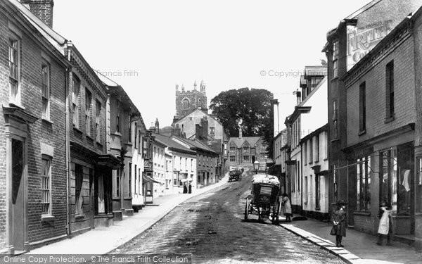 Barnstaple, Pilton 1899