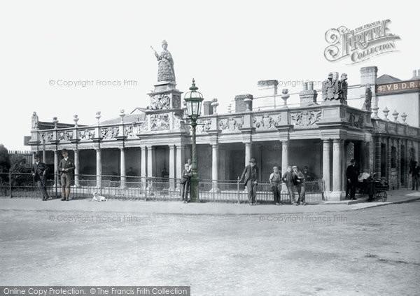Photo of Barnstaple, Queen Anne's Walk 1894