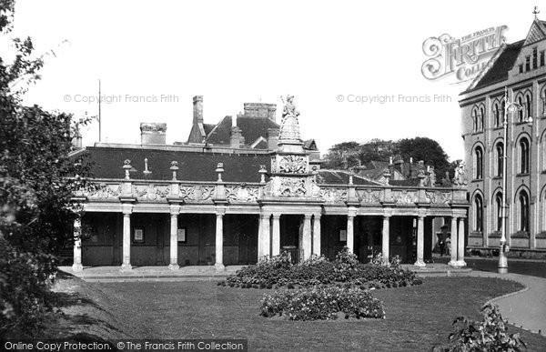 Barnstaple, Queen Anne's Walk c.1955