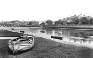Barnstaple, River Taw 1912