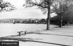 Barnstaple, River Taw And Bridge c.1950