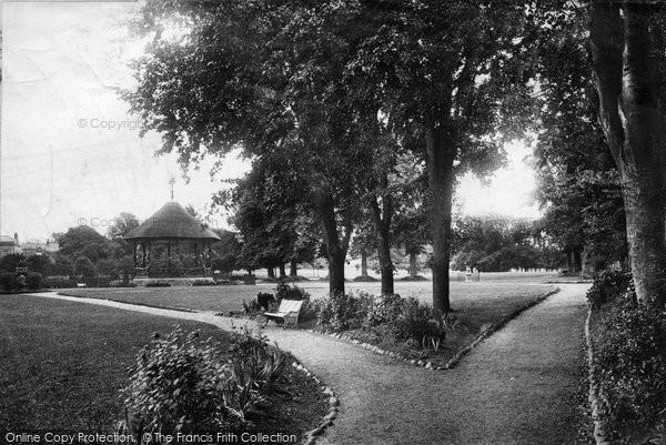 Barnstaple, Rock Park 1899