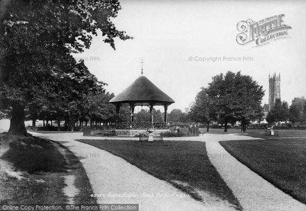 Barnstaple, Rock Park Bandstand 1899